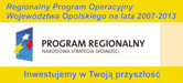 Regionalny Program Operacyjny Województwa Opolskiego na lata 2007-2013